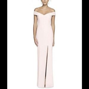 Dessy Collection Blush Gown